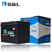 风帆(sail) 汽车电瓶蓄电池  55D26L/R 12V