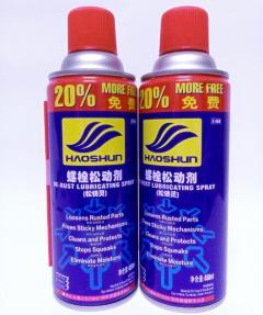泰索螺丝松动剂 450ml*24 (24瓶/箱)