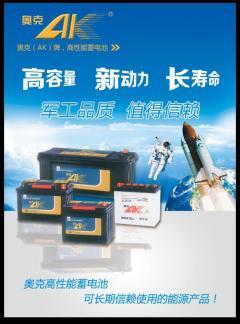 奥克蓄电池多规格打包价