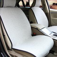 纽锐特厂家直销新款热销亚麻防滑免捆绑四季垫 带把套头枕系列 灰色