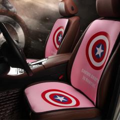 纽锐特厂家批发新款高档四季垫防滑免捆绑座套坐垫 粉色
