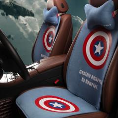 纽锐特厂家批发新款高档四季垫防滑免捆绑座套坐垫 蓝色