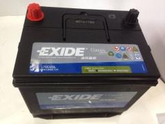 埃克赛德蓄电池70D23L65A适配日产系列斯巴鲁系列三菱系列等汽车电瓶