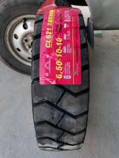 朝阳650-10-10 CL621充气叉车胎