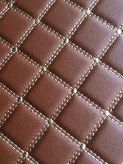 祥昊钻石纹全包围脚垫  7座单层 颜色:棕、米、咖啡、酒红、黑红、黑米