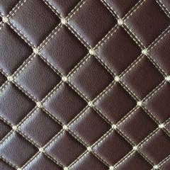 祥昊钻石纹全包围脚垫  7座双层 颜色:棕、米、咖啡、酒红、黑红、黑米