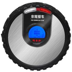 非常爱车 车载充气泵 LED照明数控液晶大屏预设胎压汽车轮胎打气泵 汽车用品 1102D2