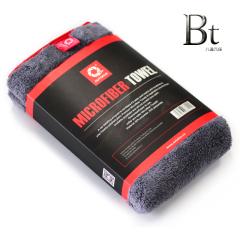 AUTOFOF超细纤维豪华珊瑚绒缎子包边擦车巾(超厚)