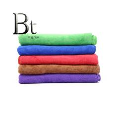 加厚洗车毛巾40*60cm 绿色
