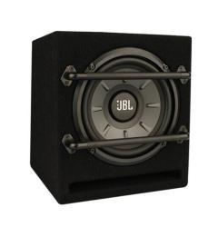 JBL 汽车音响改装 STAGE800BA 8英寸有源箱体低音炮 无需功放 即插即拔