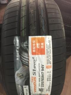 韩泰225/50R17V  K117 凌渡