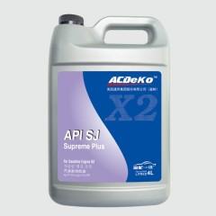 ACDeKo润滑油  半全合成API SJ 10W-40  4L (6桶/箱)
